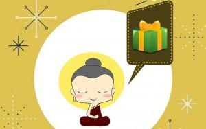Offrir la méditation en cadeau